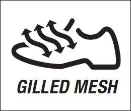 Gill Mesh (mesh breathable)