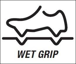 Wet grip rubber (Rubber for coupling with a moist surface)